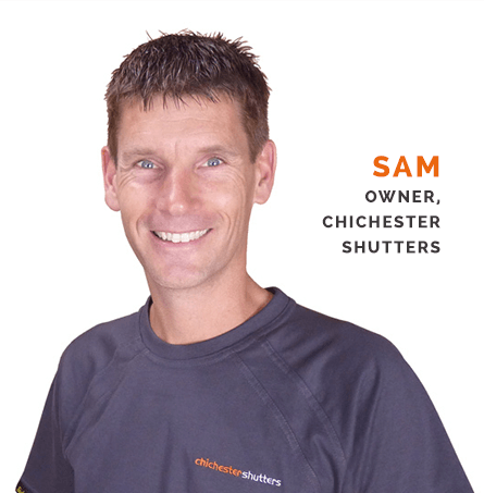 Sam Dunster From Chichester Shutters