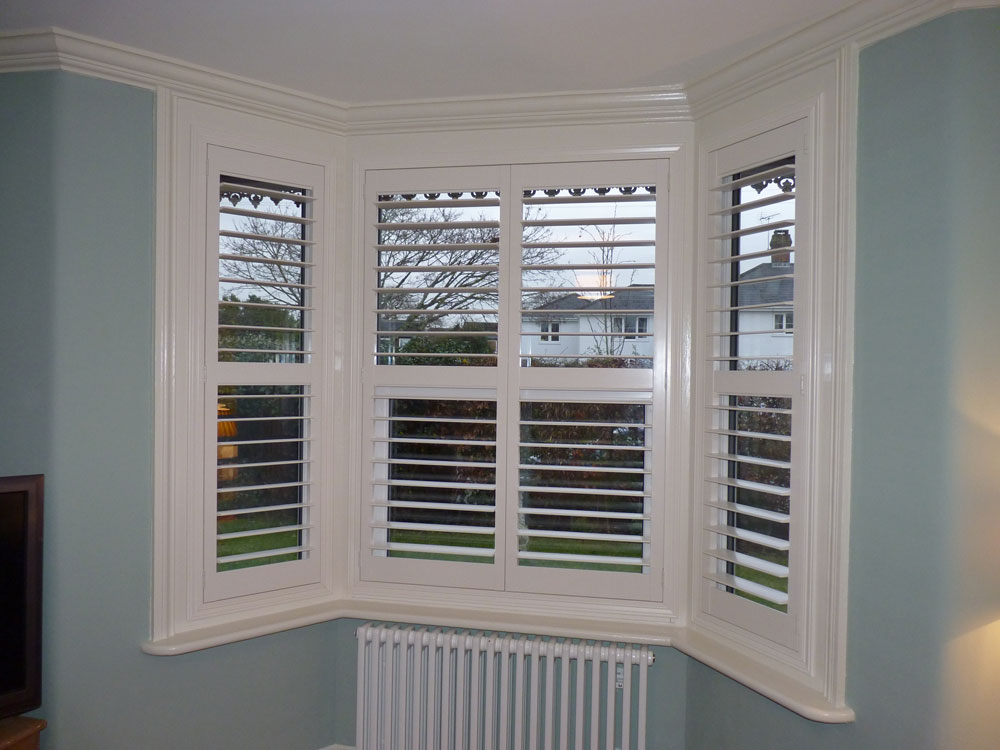 Angled Bay Window Shutters Gallery Chichester Shutters