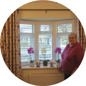 Rosemary Burrow Testimonial for Chichester Shutters